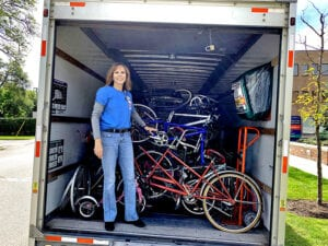 Cottage among drop-off locations for bike collection